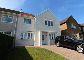 Thumbnail 3 bed semi-detached house for sale in Greenwood Road, Cefn Fforest, Blackwood