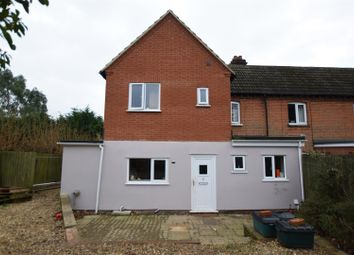 Thumbnail 4 bed semi-detached house for sale in Little Plumstead, Norwich