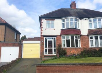 Thumbnail 3 bed semi-detached house to rent in Adams Road, Wolverhampton