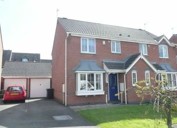 Thumbnail 3 bed semi-detached house for sale in Gale Close, Lutterworth