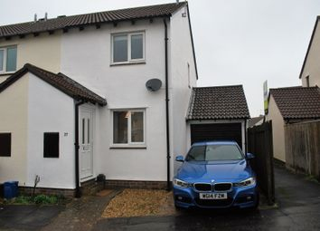 Thumbnail 2 bed semi-detached house to rent in Fulford Way, Woodbury