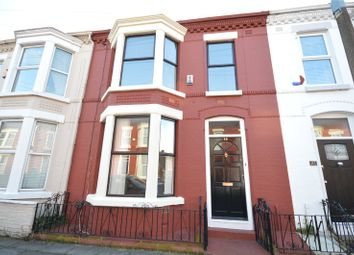 Thumbnail 3 bed terraced house for sale in Belgrave Road, Aigburth, Liverpool