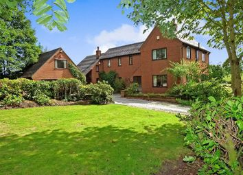 Thumbnail 4 bed detached house for sale in Nantwich Road, Audley, Stoke-On-Trent