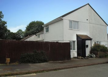 Thumbnail 1 bed terraced house for sale in Tamar Close, Callington