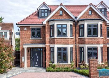 Thumbnail 5 bed semi-detached house for sale in Grimsdyke Crescent, Arkley, Hertfordshire