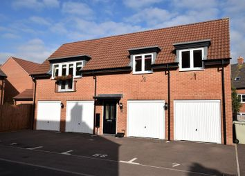 Thumbnail 2 bed flat for sale in Coleridge Way, Oakham