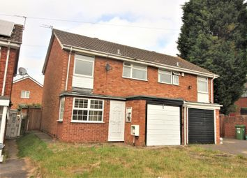 Thumbnail 3 bedroom semi-detached house for sale in Wolverley Avenue, Penn, Wolverhampton