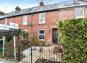 Thumbnail 3 bed terraced house to rent in Stockbridge Road, Winchester, Hampshire