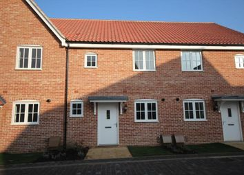 Thumbnail 2 bed terraced house for sale in King Edgar Close, Ely