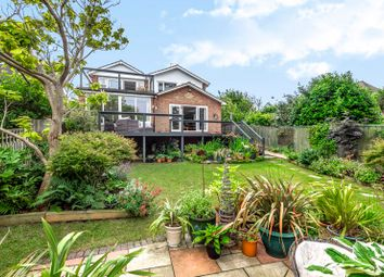 Thumbnail 4 bed detached house for sale in Knights Bank Road, Hill Head, Fareham