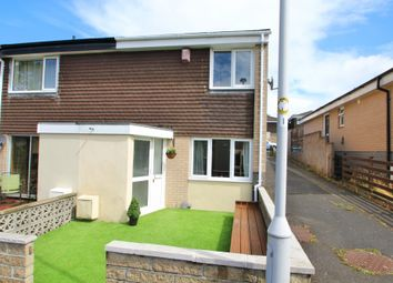 Thumbnail 3 bed end terrace house for sale in Downfield Walk, Plymouth