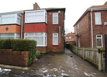 Thumbnail 2 bedroom semi-detached house for sale in Embleton Gardens, Newcastle Upon Tyne