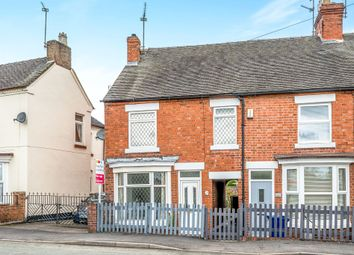 Thumbnail 2 bed end terrace house for sale in Holly Road, Uttoxeter