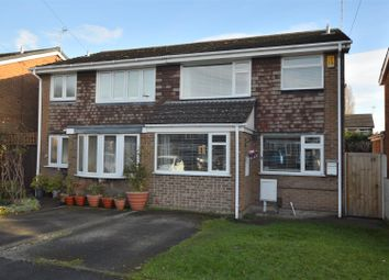 Thumbnail 3 bed semi-detached house for sale in Jubalton Close, Allenton, Derby