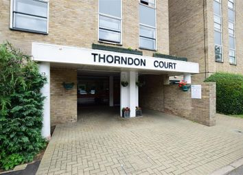 Thumbnail 2 bed flat for sale in Eagle Way, Great Warley, Brentwood, Essex