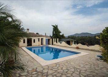 Thumbnail 3 bed villa for sale in Lliber, Alicante, Valencia, Spain