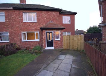 Thumbnail 3 bedroom semi-detached house for sale in Cresswell Avenue, Forest Hall, Newcastle Upon Tyne