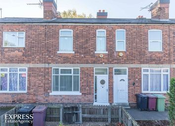 Thumbnail 3 bed terraced house for sale in Station Road, Shirebrook, Mansfield, Derbyshire