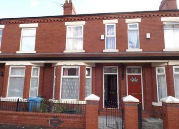 Thumbnail 3 bedroom terraced house for sale in Ossory Street, Rusholme, Manchester, Greater Manchester