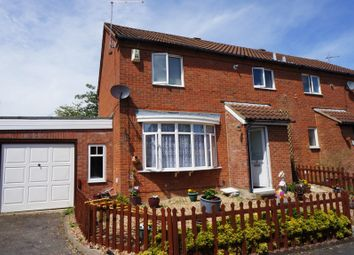 Thumbnail 3 bed semi-detached house for sale in Nicholas Mead, Great Linford