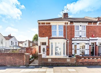 Thumbnail 3 bed end terrace house for sale in Wykeham Road, Portsmouth