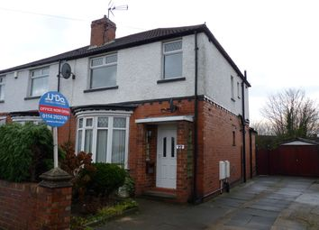 Thumbnail 4 bedroom semi-detached house to rent in Halesworth Road, Sheffield