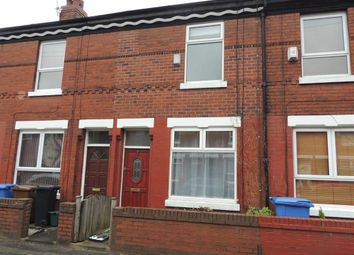 Thumbnail 2 bed terraced house to rent in Springfield Avenue, Stockport
