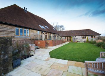 Thumbnail 6 bed barn conversion for sale in Rushlake Green, Heathfield