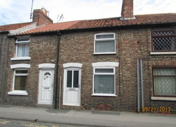 Thumbnail 2 bed terraced house to rent in Wold Street, Norton, Malton