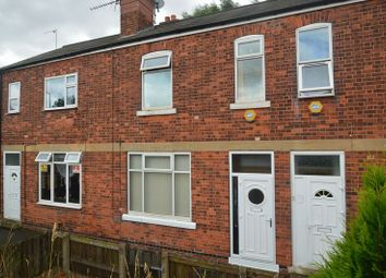 Thumbnail 3 bed terraced house for sale in Station Road, Shirebrook, Mansfield