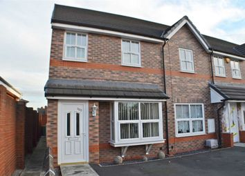 Thumbnail 2 bed town house for sale in Lydyett Lane, Barnton, Northwich