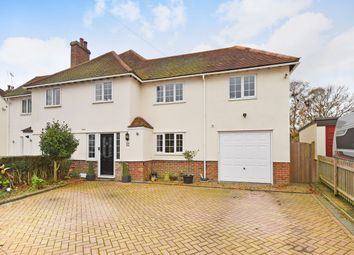 Thumbnail 4 bed semi-detached house for sale in Shorncliffe Crescent, Folkestone