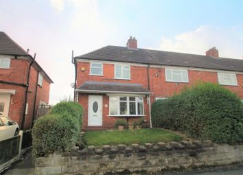 Thumbnail 3 bedroom end terrace house for sale in Carisbrooke Road, Wednesbury