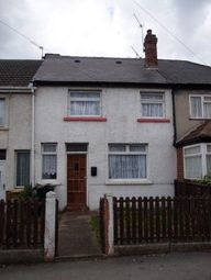 Thumbnail 3 bed terraced house to rent in Kings Crescent, Edlington, Doncaster