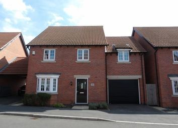 Thumbnail 4 bed detached house for sale in Hallaton Drive, Syston, Leicester, Leicestershire