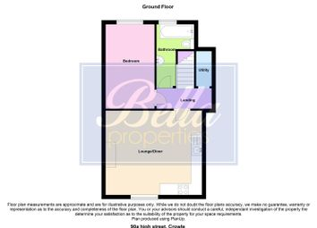 Thumbnail 1 bedroom flat to rent in High Street, Crowle, Scunthorpe