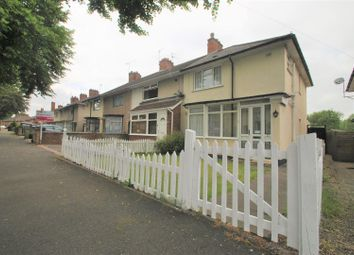Thumbnail 3 bed end terrace house for sale in Ashbrook Road, Stirchley, Birmingham