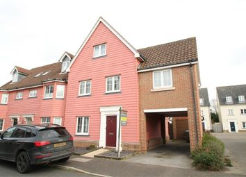 Thumbnail 4 bedroom end terrace house for sale in Meadow Crescent, Purdis Farm, Ipswich, Suffolk