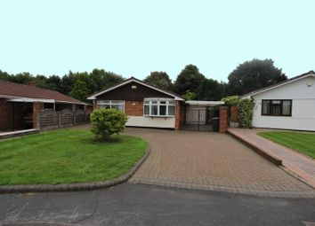 Thumbnail 3 bed detached bungalow for sale in Enderley Drive, Bloxwich, Walsall