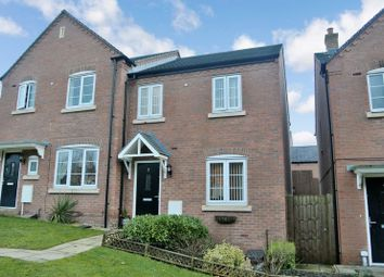 Thumbnail 3 bedroom semi-detached house for sale in Great Meadow Terrace, Woodside, Telford, Shropshire.