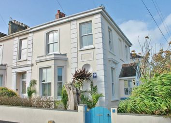 Thumbnail 3 bed end terrace house to rent in Marlborough Road, Falmouth