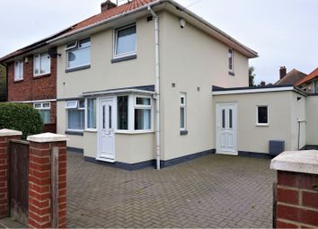 Thumbnail 3 bed semi-detached house for sale in Newington Road, Middlesbrough