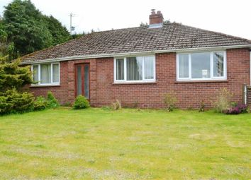 Thumbnail 3 bed detached bungalow for sale in Glanllyn, Aberhafesp, Newtown, Powys