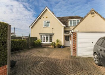 Thumbnail 5 bed detached house for sale in The Causeway, Burwell, Cambridge