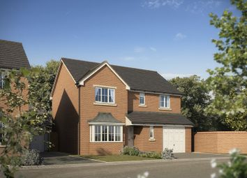 "Thumbnail 4 bed detached house for sale in ""The Warwick"" at Abergavenny Road, Gilwern, Abergavenny"