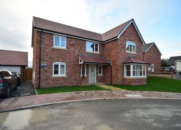 Thumbnail 4 bed detached house for sale in The Croft, Whitchurch