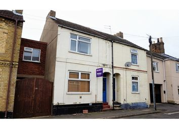 Thumbnail 3 bed terraced house for sale in Palmerston Road, Peterborough