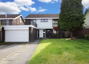 Thumbnail 4 bed detached house to rent in Forest View Road, Loughton