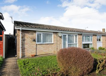 Thumbnail 2 bed semi-detached bungalow for sale in St. Marys Road, Long Stratton, Norwich