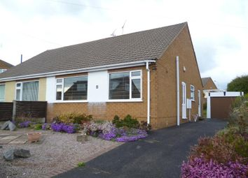 Thumbnail 2 bed semi-detached bungalow to rent in Kirton Close, Mansfield